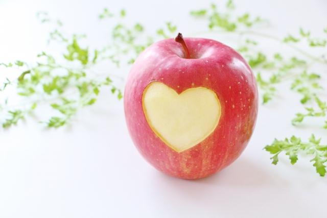思いやりのリンゴ
