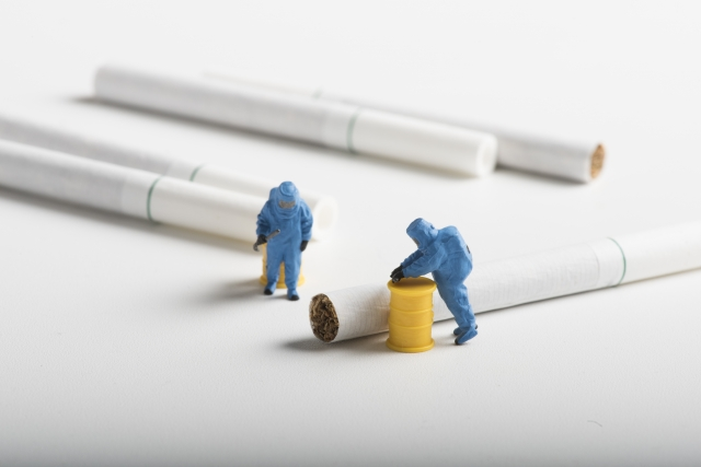 タバコの特徴を押さえる